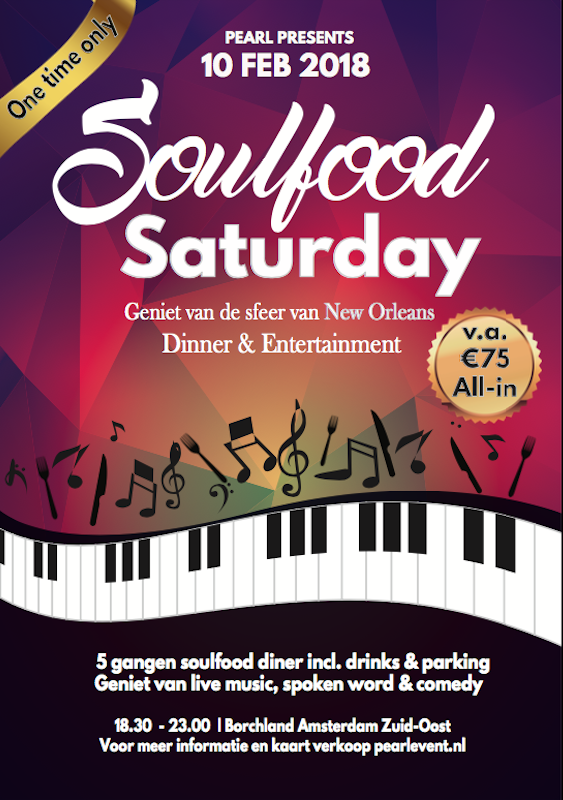 soulfoodsaturday flyer